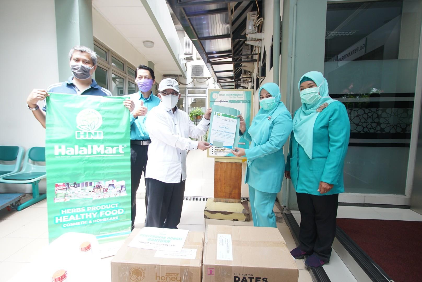 Penyaluran Donasi Tenaga Medis RS Islam Pondok Kopi