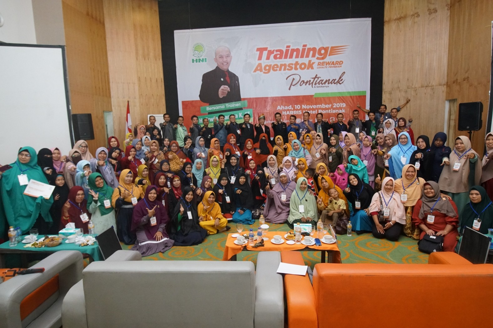TRAINING AGENSTOK PONTIANAK